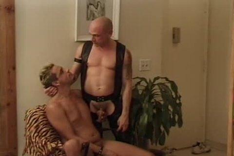 Leather Wolf - Scene 2 - Macho man video