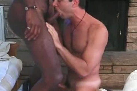Whellote homosexual taking three dark dicks and hawt goo - ebony sex movie - Tube8.com