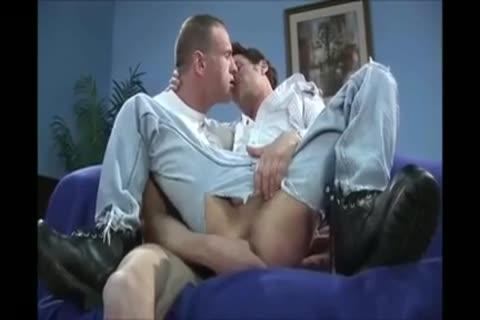 Hung dad pokes twink raw In Ripped ass Jeans