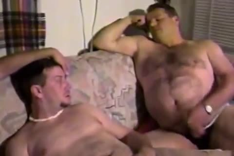 furious chubby daddies Invading naughty analhole  apertures In Fervent 3some