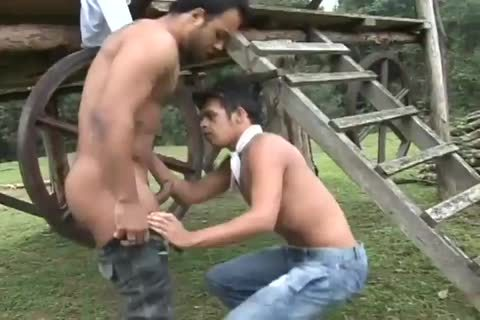 Latino twinks nudeback naughty gay booty In A Ranch