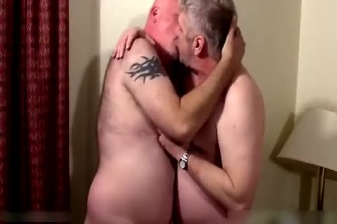 Two tasty daddies in bedroom