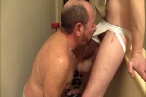 My gorgeous Buddy pokes My throat And ****s My pooperhole  raw