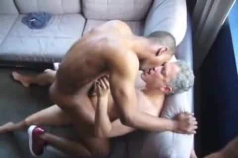 dark homosexual man pounded By Two Ultimate prostitutes