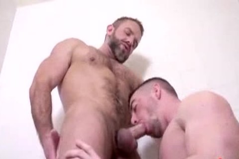 Dirk Caber plows Scott Hunter's booty At Alpha Males