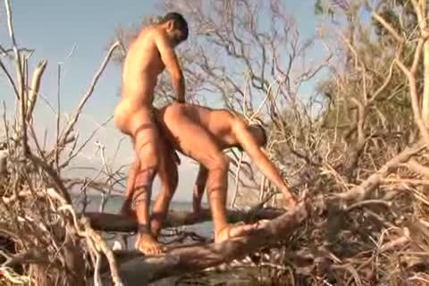 Sex On Tthowdys man Beach With enormous giant ramrod