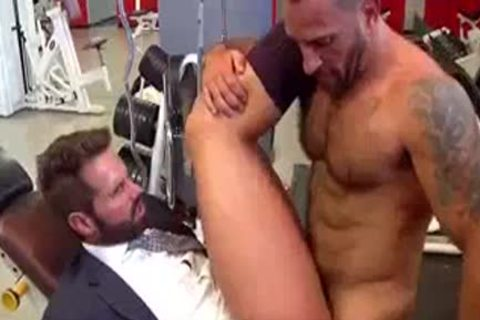 tasty guy Joins A Gym And gets plowed
