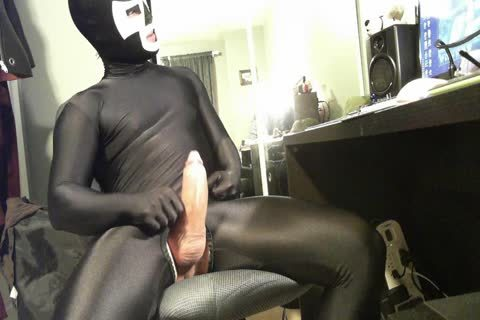 boy Wanted To Buy This Suit And Mask From Me. Here Is The Last Load previous to The Exchange Of messy Spandex For cash