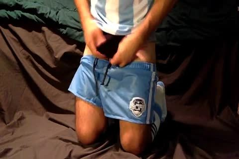 In Honor Of The World Cup!!! The Shorts Are greater quantity Like Rugby Shorts, But Hey They're Shorter ;) I Have A pair Other Surprises Hidden below Those Short Shorts Too, So Watch It And Play Along With Me!!!