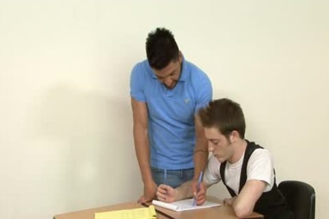homosexual Students slamming In The Classroom