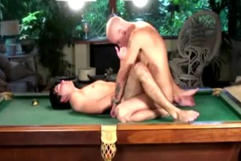 twinks fucking Each Other butts On Pooltable