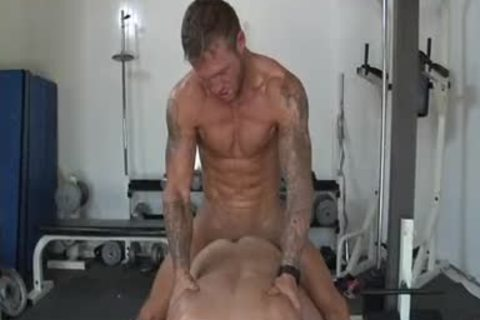 Bo Dean pokes Tucker Scott - Lovealphalad