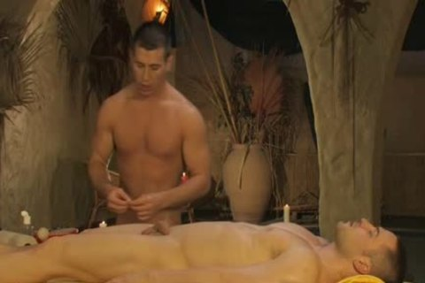 lascivious young Gaywads Have An Oily ass Fingering Massage