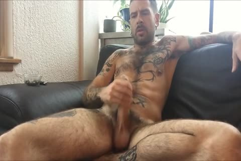 Chilling In My Living Room With A Joint And A long Jack Session, Edging My cock And lastly Shooting A large Load And Licking It Off My Fingers.