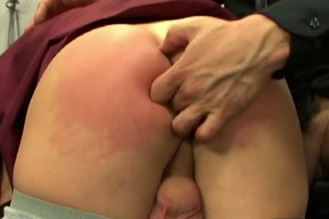 sweetie homosexual gets a-hole Spanked And pounded