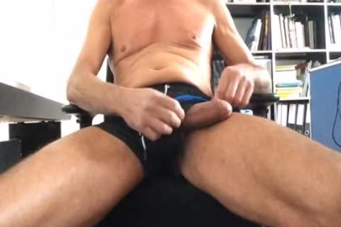 Very wild Play With My Precum And The dildos!