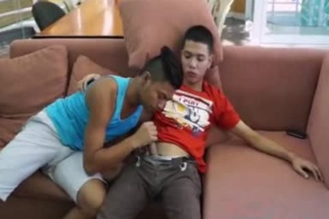 Pinoy giant 10-Pounder Arjo And Josh,, have a fun Pinoy M2M bang, suck, And wazoo rimming