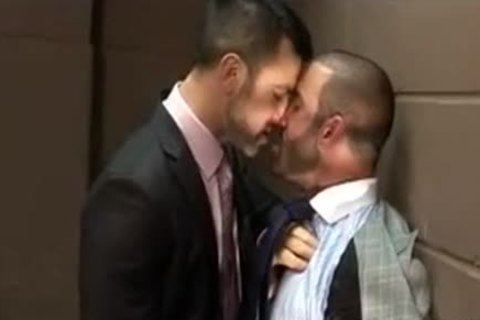 lusty Hunks sucking In The Office