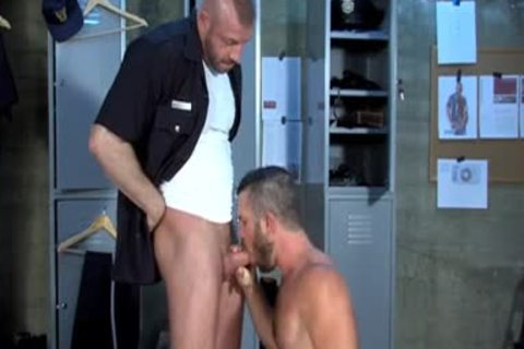 Muscle Stepfather doggy style