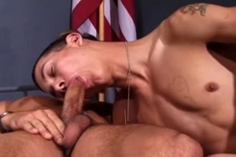 A twink In Uniform Just Wants To poke A butthole!