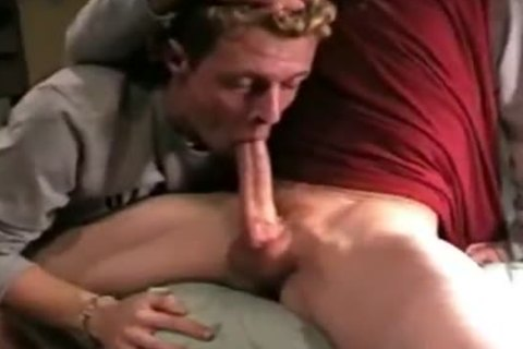 Longer Version- twink Worshiping large Daddy ramrod. Would Love To poke His face hole And Give Him A good Feeding.