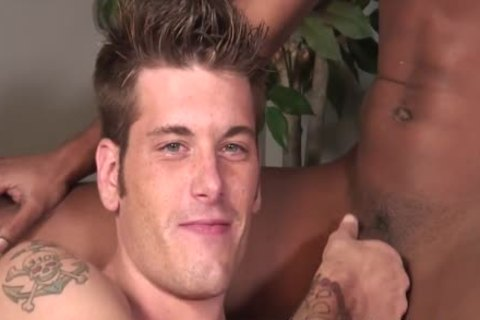Chase Evans Is Hungry For Some dark cock