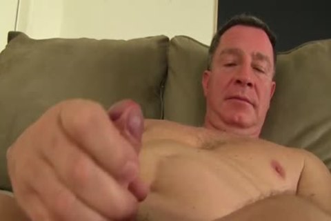 daddy bare lad Fingering His wazoo And Jacking Off