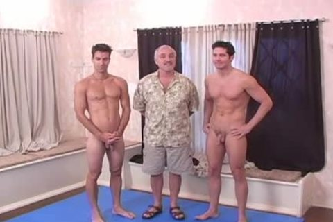 Jason And Mikael have a enjoyment jerking off together