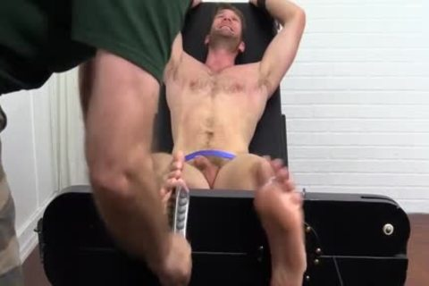 Colby Keller With A consummate Body gets A Foot And Toe Tickle
