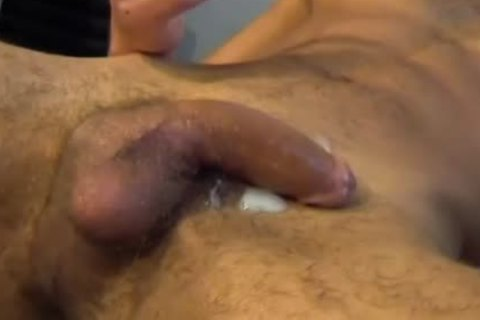 My straight Neighbour Made A Porn: Watch His biggest cock receives Wanked By A guy!