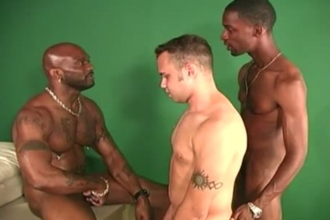black dudes Sharing The butt Of A White guy