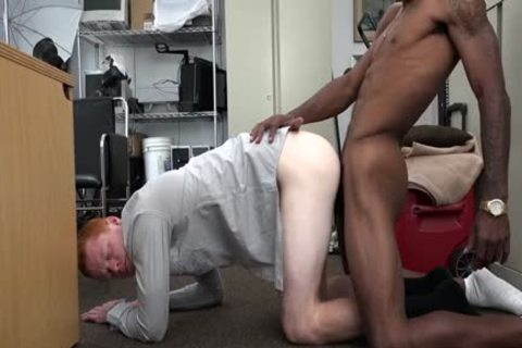 Ginger Straightys booty Stretched Out By BBC