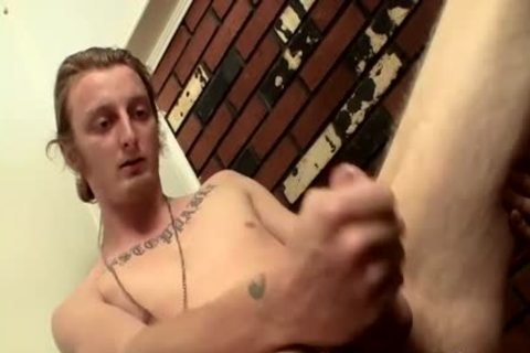 lengthy Hair dude Billy Jerks His Hard penis In Front Of Camera