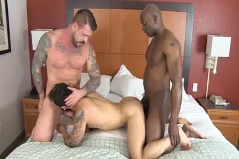 Champ Robinson, Draven Torres, Rocco Steele - Awesom three-some raw