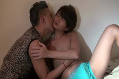 Japanese males hole Rubbed