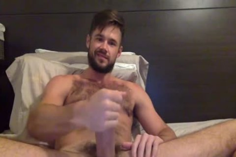 Porn Star Mike De Marko Strokes His gigantic palpitating pecker