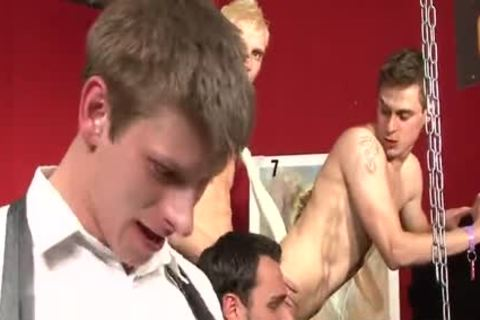 wicked Cub anal bunch-sex