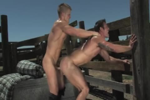 young homosexual Muscle Farmer By Rambo