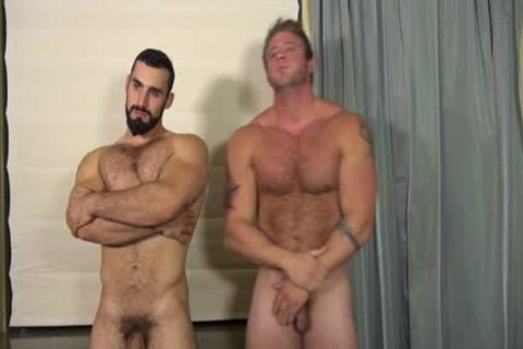 hirsute homo a bit of arse And cumshot