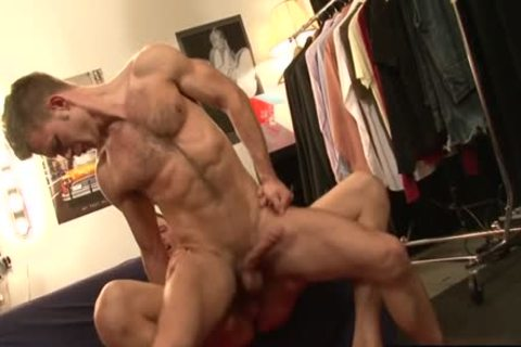 enormous ramrod homosexual butthole sex And cumshot