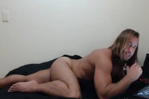 lusty massive long Hair With A admirable palatable Bubble ass