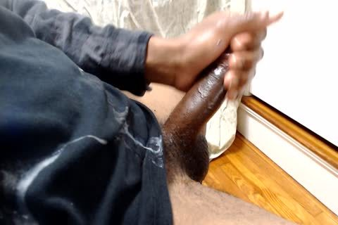Multiple (4) Cumshots (Stroking And Edging darksome knob)