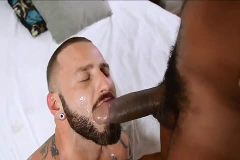 When Muscled hairy twinks plow