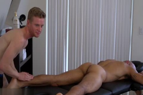 monstrous 10-Pounder gay anal sex And Massage