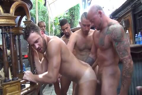 MusclePup Logan Moore acquires gang team-banged & Barebacked pound