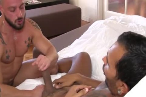 Lucio Saints chocolate hole Is penetrated By David Avila