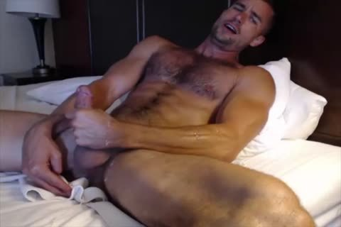 Dilf With Vibrating sex-toy On web camera