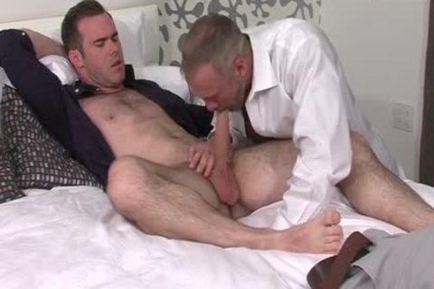 Silver Fox Dallas Steele And Clean Cut shlong Matthew Bosch spooge together