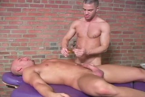 Zack And Jake Tyler Have A attractive Massage