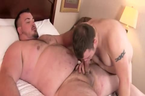 fat overweight thick penis bareback Junior Uncle Bear bulky